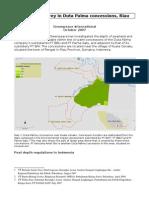Peatland Survey in Duta Palma