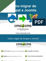 Cómo migrar de Drupal a Joomla