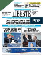 Journal LIBERTE Du 24.03.2014