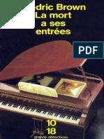 eBook Frederic Brown - La Mort a Ses Entrees