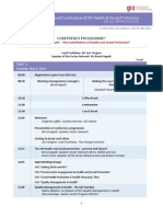 Giz Regional Conference Snhesp Programme Ghana 2014 12-03-2014