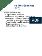 Présentation OS 2ième Génération