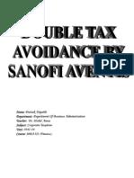 Double Tax Avoidance