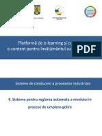 09_(C5) Sisteme Pentru Reglarea Automata a Nivelului in Procese de Umplere-golire