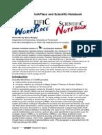 Scientific WorkPlace and Scientific Notebook