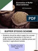 Market Price 6 Buffer Stocks Scheme