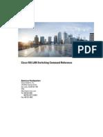 Cisco IOS LAN Switching Reference C7600
