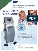 FR - Technique de transplantation capillaire automatisée S.A.F.E.R.®/NeoGraft®