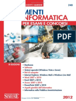Elementi Di Informatica Per Esami e Concorsi Edizioni Simone 9788824446990 EDGT20549 1341933271621 Preview