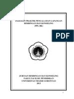 Pedoman PPLBK Reguler Bimbingan Konseling Fakultas Ilmu Pendidikan Universitas Negeri Gorontalo