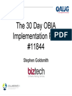 30 Day OBIA Implementation_11844