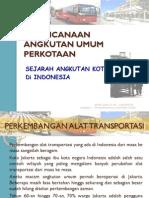 Sejarah Angkutan Kota Di Indonesia