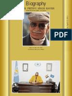 Dr. Prithvi Ravish GUI Profile