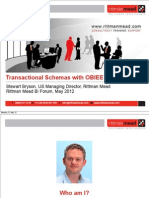 OBIEE Reporting Against Transactional Schemas