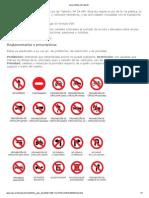 Ley y señales de tránsito