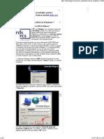 Conectare Automata RDS in Windows 7