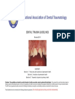 Dental Trauma Guidelines