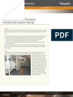 Condensate System Piping