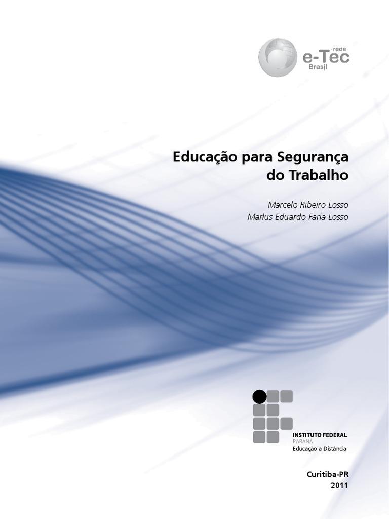 014c0276b4a92 1ª Disciplina - Educação para Segurança no Trabalho