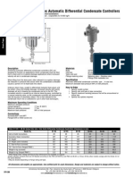 Armstrong International SA . Com 80-DC Series Automatic Differential Condensate Controllers