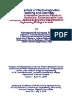 EM Course Module 3 for 2009 India Programs