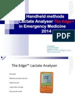 Analizor Lactat  CYF Medical 24Mar2014