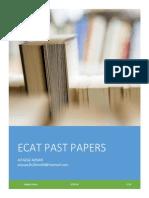 ECAT PAPERS BY AITAZAZ AHSAN
