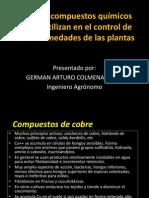 Tipos de compuestos químicos para controlar enfermedades