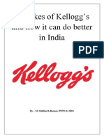 How Can the Kellogg Do Better in India