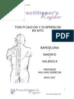 Tonificacion y Dispersion