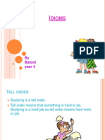 Idioms Powerpoint