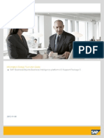 SAP Information Design Tool