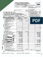 JEHT Foundation -- 2004 Tax Return