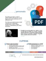 Catalog de Cursuri - Ghid de Dezvoltare Personala