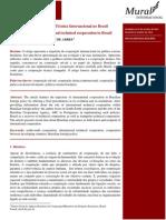Evolução da Cooperação Técnica do Brasil (out-2013)
