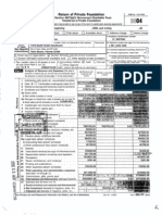 Picower Foundation -- 2004 Tax Return
