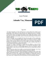 Perutz, Leo - A Donde Vas Manzanita