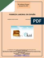 Pobreza laboral en España
