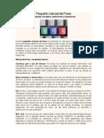 Pequeño manual de Forex