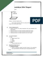 LKS Berbasis Inkuiri (Menentukan Sifat Magnet)