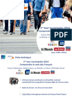 Municipales 2014 - 1er Tour