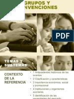 GRUPOS Y CONVENCIONES 1