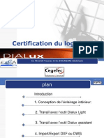 Formation Dialux