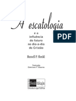 Livro eBook Escatologia e a Influencia Do Futuro No Dia a Dia Do Cristao