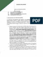 Comisión Especial Multipartidaria - Informe Minoría (Caso Terrorismo)