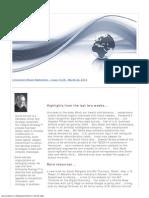 Innovation Watch Newsletter 13.06 - March 22, 2014