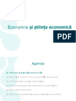 economie Si Stiinta