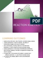 Chapter 8 Reaction Kinetics