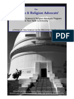 Science & Religion Advocate Program ebook1