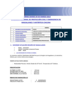 Informe Diario Onemi Magallanes 24.03.2014